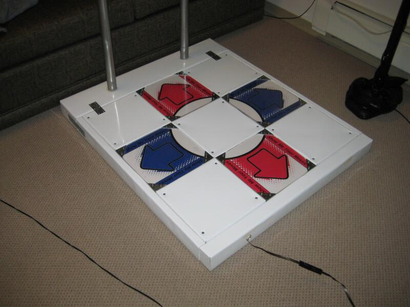 My Homemade Arcade Style Ddr Pad Todd Sullivan Daysign